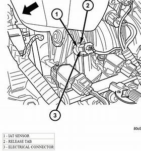 2003 Liberty  Throttle Body  Iat  Maf Sensor And Which 2 Wires Lead