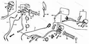 Honda Motorcycle 1986 Oem Parts Diagram For Switches
