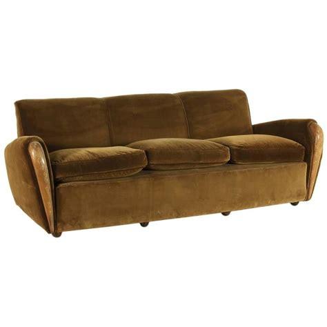 1930s Sofa by Three Seater Sofa By Osvaldo Borsani Italy 1930s 1940s
