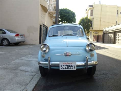 Fiat California by 1958 Fiat Nuova 500 America Convertible 18k Original