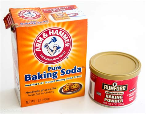what is baking powder the difference between baking soda and baking powder simplyrecipes com