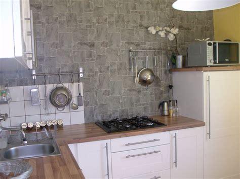 papier peint lessivable pour cuisine papiers peints cuisine lessivable 4 murs cuisine idées