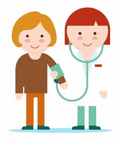 Treatment Clipart Patient Happy Doctor Options Patients