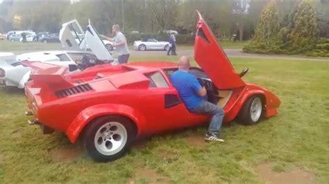 stoneleigh kit car show  lamborghini stand youtube
