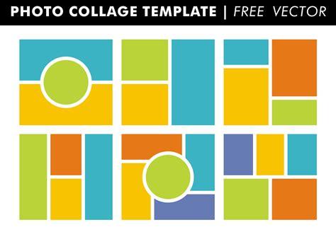 photo collage templates vector   vector art