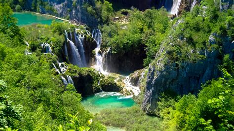 Plitvice Lakes National Park Croatia Outdoor Hiking