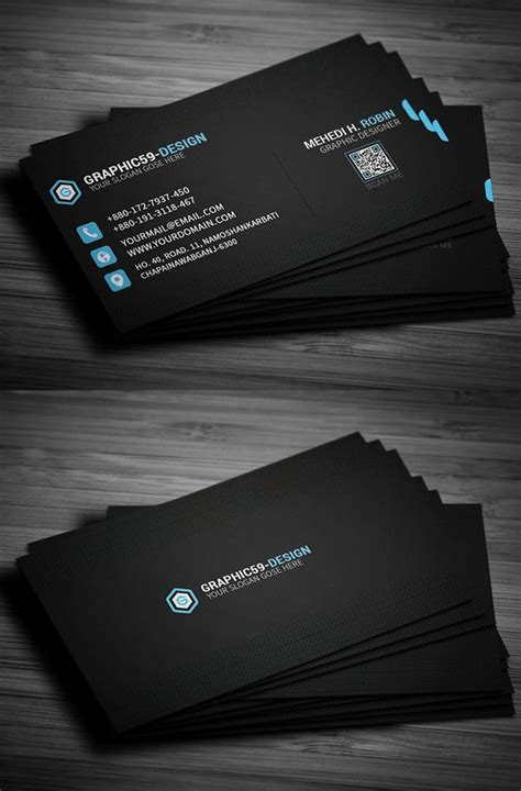 professional business card psd templates