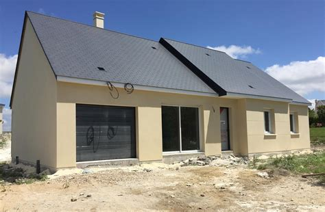 awesome maison chinon enduit with construire sa maison pas chere