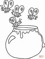 Honey Coloring Pot Ukrainian Jar Template Printable Supercoloring Apple Designlooter Drawing Coloringpages101 Cake Colorings Getdrawings Ukraine Getcolorings 15kb 973px sketch template