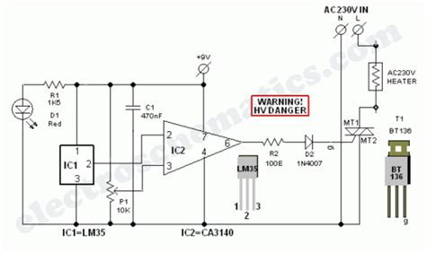 Wiring Diagram For Infrared Heater by Electric Ac Heater Controller Unit