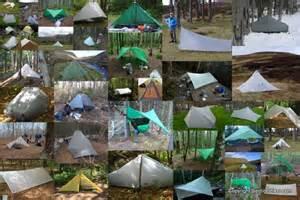 Backpacking Tarp Shelter Tent
