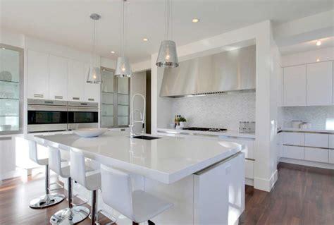 modern white kitchen tedxumkc decoration