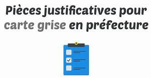 Demande Carte Grise Prefecture : carte grise en pr fecture la liste des pi ces justificatives pr senter ~ Maxctalentgroup.com Avis de Voitures
