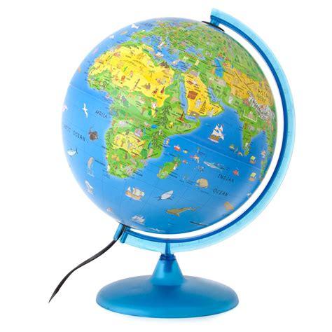 World Globe Images Justglobes Activity Globe With Illuminated Globe