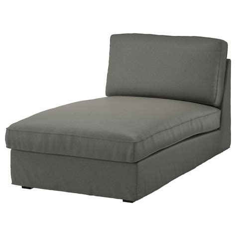 chaise ikea transparente kivik cover for chaise longue borred grey green ikea