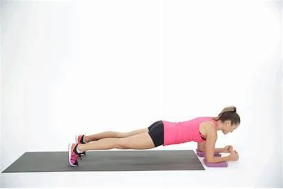 Plank Elbow Sliding Solo Workout Popsugar Fitness