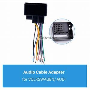 Audio Cable Car Stereo Wiring Harness Plug Adapter For
