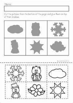 groundhog day shadow matching activity activities 634 | 3790725f77cb91b77f86c514dca222d7