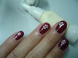 Nail Art Flower Designs   Flowers Design   Nail Polish ...