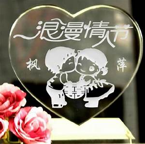 engraved chinese traditional bride groom crystal wedding With traditional wedding gifts groom