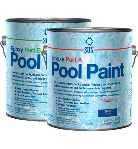 2 Part Epoxy Pool Paint By Sun Paints And Coatings