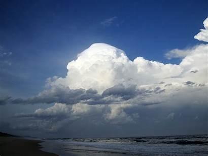 Cumulonimbus Clouds Weather Phenomena Sky Storms Formations
