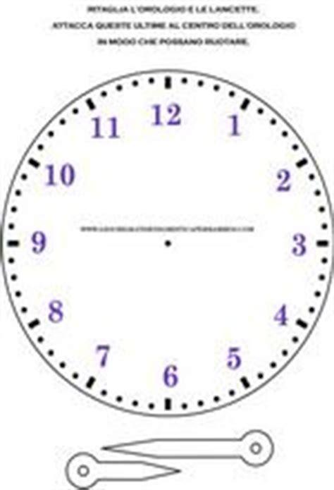 orologio da stare per imparare a leggere l ora italiano l2 ls risorse pinterest