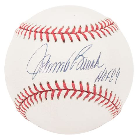 johnny bench autograph johnny bench autographed cincinnati reds official mlb