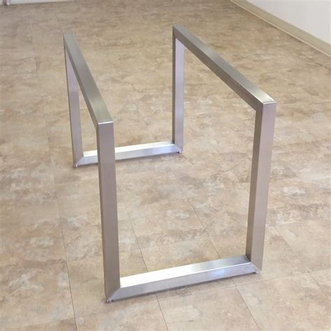 kitchen island stainless poseidon table bases custom metal home