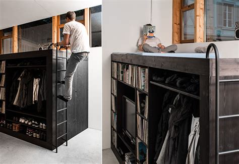 living cube compact furniture designed  small room