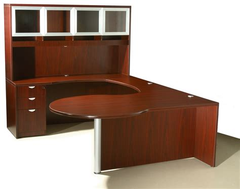 u shaped executive desk with hutch of4s curved series u shaped executive desk with hutch 72