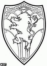 Narnia Coloring Shield Pages Chronicles Medieval Lion Wardrobe Witch Peter Template King Google Arms Coat Colouring Designs Printable Embroidery Drawings sketch template