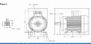 U00bd Hp 3 Phase Electric Motor 1385 Rpm B3 220v  U0026 415v Inverter Rated
