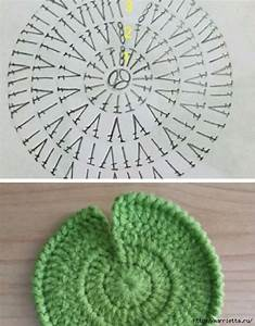 Ergahandmade  Crochet Flower Waterlily   Diagrams   Free