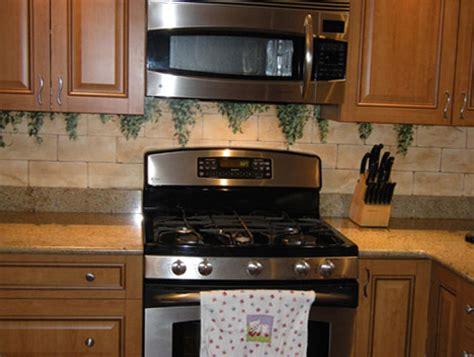 Painted Kitchen Backsplash Designs : Painted Kitchen Backsplash
