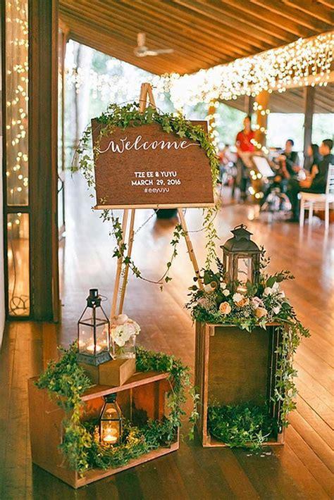 budget friendly wedding trend 27 greenery wedding decor