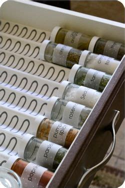 kitchen drawer spice rack organizer 20 spice rack ideas for both roomy and cred kitchen 8052