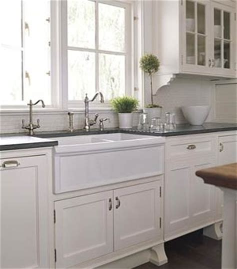 farmhouse kitchen sink white apron sink white cabinets counter tops kitchen 7158
