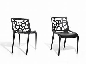 Chaise Plastique Noir : catgorie chaise de jardin page 6 du guide et comparateur d 39 achat ~ Teatrodelosmanantiales.com Idées de Décoration