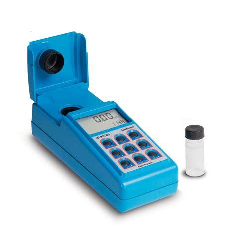 turbidity portable meter hi98703 instruments australia