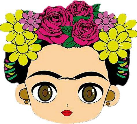 Cara De Frida Kahlo Dibujo Clipart - Full Size Clipart ...