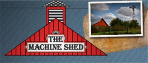 machine shed restaurant farm to table restaurant
