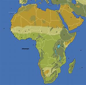 Blank Map of Africa - JohoMaps