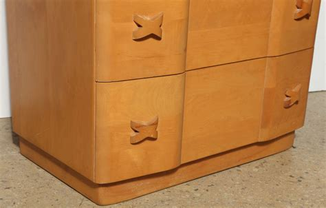 Heywood Wakefield Dresser Value by Heywood Wakefield Quot Quot Maple Dresser At 1stdibs