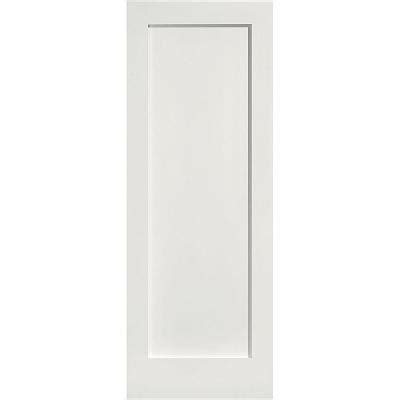 home depot solid core masonite 30 in x 80 in mdf series smooth 1 panel solid primed composite interior door