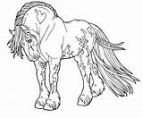Horse Coloring Cool Printable sketch template