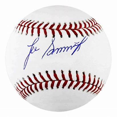 Smith Mlb Official Autographed Jsa Baseball Lee