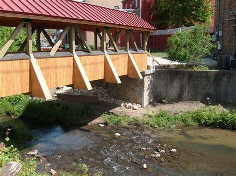 bridgehuntercom beaver creek covered bridge