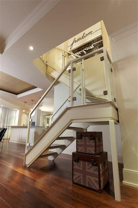 st lawrence market condo stairs modern staircase