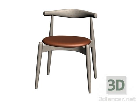 Hardoy Chair 3d Model by 3d Model Chair Ch20 Manufacturer Carl Hansen Collection